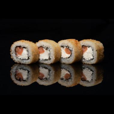 Горячий Сливочный лосось ( 8 шт )
