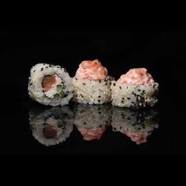 Запеченный копченый лосось ( 8 шт )