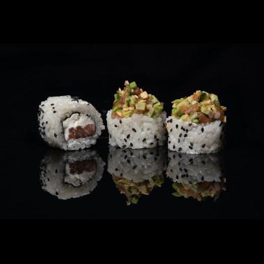 Гуакамоле лосось ( 8 шт )
